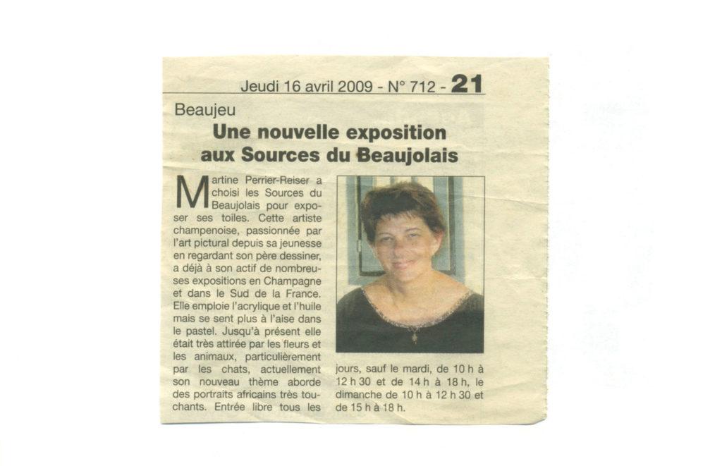 Beaujeu - Exposition aux Sources du Beaujolais