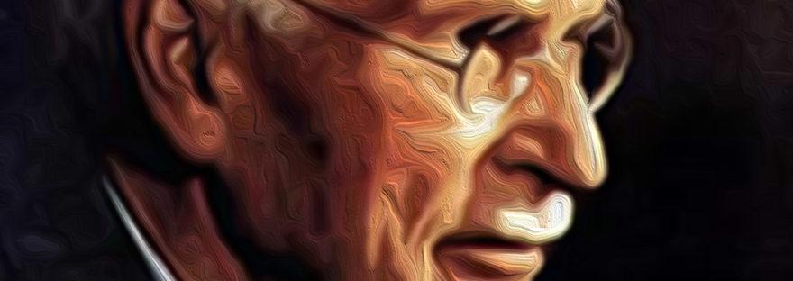 Huile selon photo carl gustave Jung