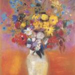 Tableau Fleurs Martine Perrier-Reiser